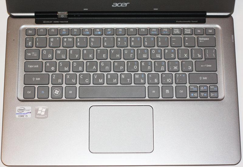 Клавиатура Acer S3